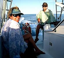 Captain Laurie & Julie Wright