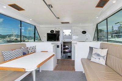 Bounty Hunter Sportsfishing boat Interior